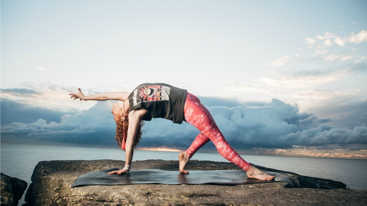 Lizzie Dixon Power Living Australia Yoga