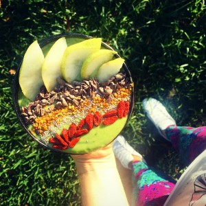 Keenan Crisp Food and Yoga Power Living Australia blog