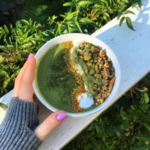 matcha green energy smoothie recipe blog power living australia yoga