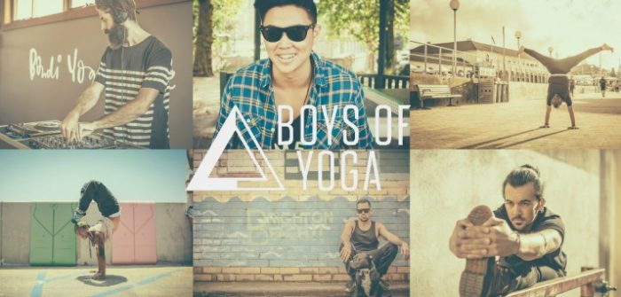 boys of yoga sydney power living australia yoga