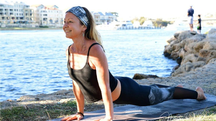 Jo Harvey Power Living Australia Yoga Teachers Network