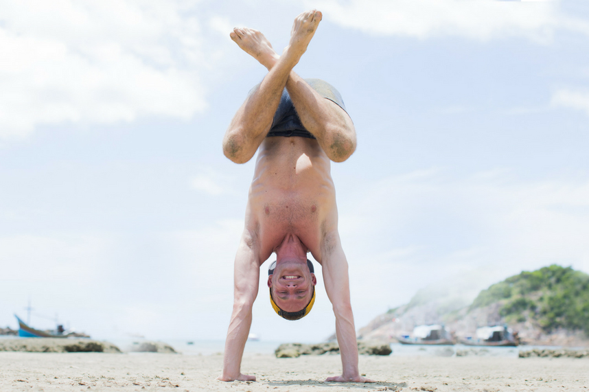 Duncan Parviainen yoga training rite of passage