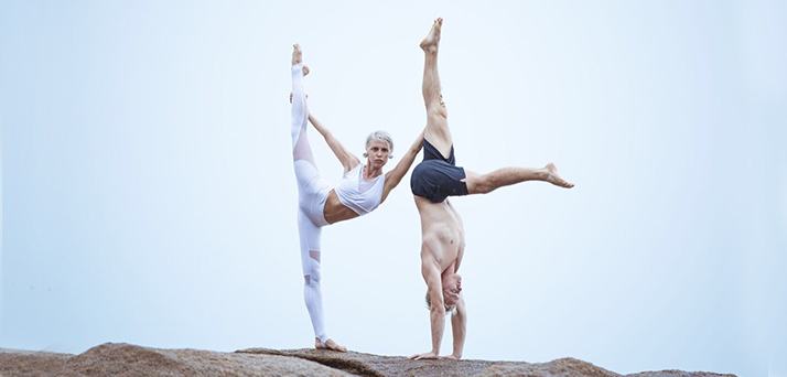 Aria crescendo gus power living australia yoga warrior flow inverted tips tricks