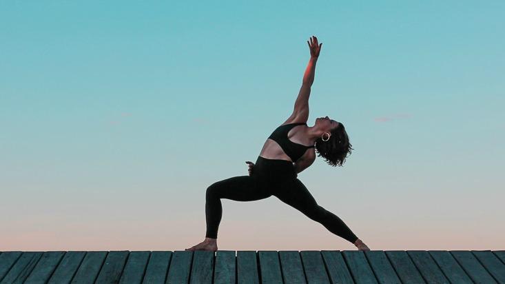 maud leger power living australia yoga