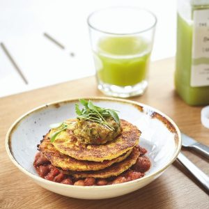 Corn Fritters Vegan Food