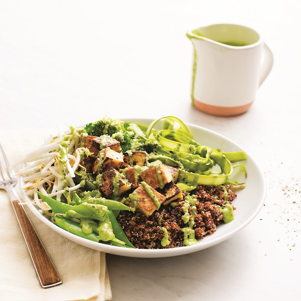 Green Goddess Quinoa Buddha Bowl