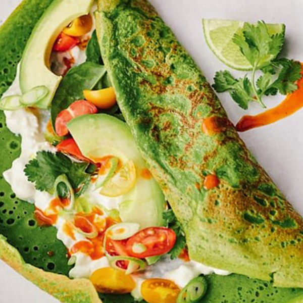 The One And Only Green Pancakes You Need To Know About