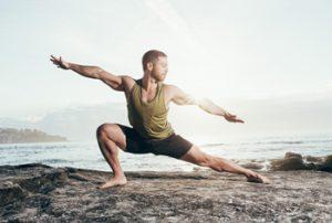 Jordan Yoga Pose