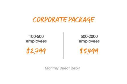 Corporate Membership Pricing